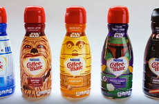 Intergalactic Coffee Creamers - These Limited Edition Coffee-Mate Products Celebrate Star Wars