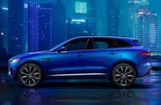 Versatile Familial Sportcars - The New Jaguar F-Pace Blends Both Luxury and Practical Auto Concepts