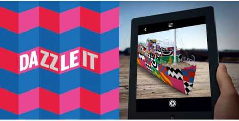 Art Creation Apps - The 'Dazzle It' App That Lets You Apply Pop Art on Anything