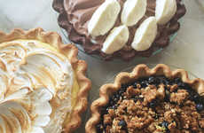Gourmet Pie Tastings - This Event Allows Guests to Sample Decadent Desserts and Homemade Ice Cream
