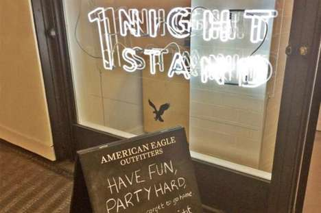 Denim-Lending Shops - After a '1 Night Stand' American Eagle Lets Consumers Keep or Return Jeans