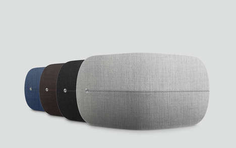 Cozy Convex Speakers - This High-End Speaker's Design Provides Great Sound and Connectivity