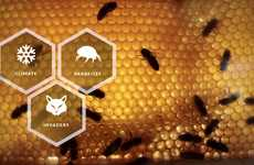 Smart Beehive Apps - The 'APiS Hive' Combines a Counter, Hive Scale and Monitor into One Bee App