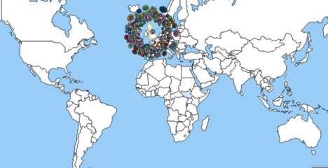 This International Organization for Migration Map Shows Global Human Movement