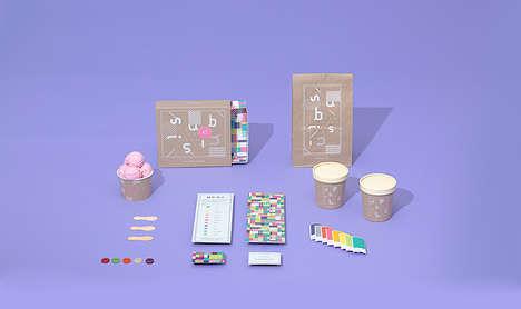 Youthful Dessert Shop Branding