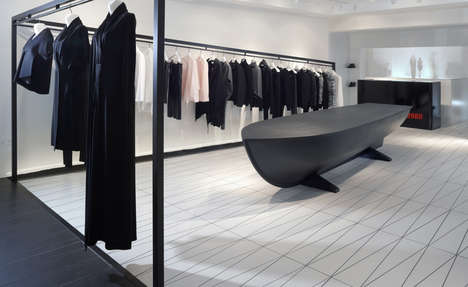 Minimalist Flagship Boutiques - Hussein Chalayan Opens His First Retail Space in London