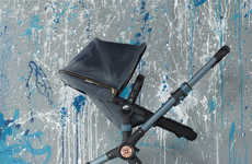 Fashionable Denim Stollers - Diesel Moves to Accessorize Babies with This Bugaboo Buffalo Denim Ride