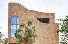 Architecturally Asymmetrical Villas - The Fairyland Complex Uses Curved Walls to Inspire Harmony