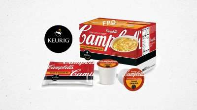 Single-Serve Soup Pods - The New Keurig and Campbell's K-Cup Makes Single Soup Cups Like Coffee