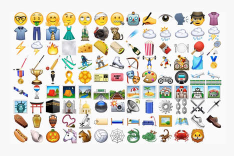 Updated Emoticon Keyboards