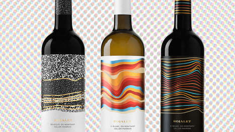 Dirt-Inspired Wine Labels