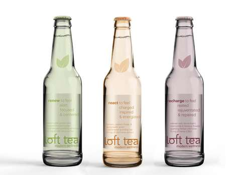 Hemp Tea Beverages