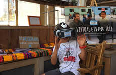 Empathetic Virtual Reality Retail - TOMS Takes Shoppers on Their Virtual Reality Giving Trip to Peru