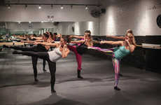 Barre Workout Promotions - Barre Code Offers Patrons Free Classes Before its Doors Open