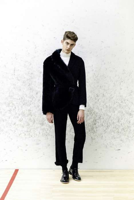 Feminized Menswear Collections