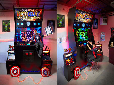 Oversized Arcade Games