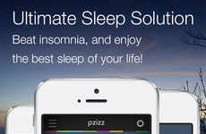 Soothing White Noise Apps - This App Provides the a Meditative Soundtrack for Sleeping