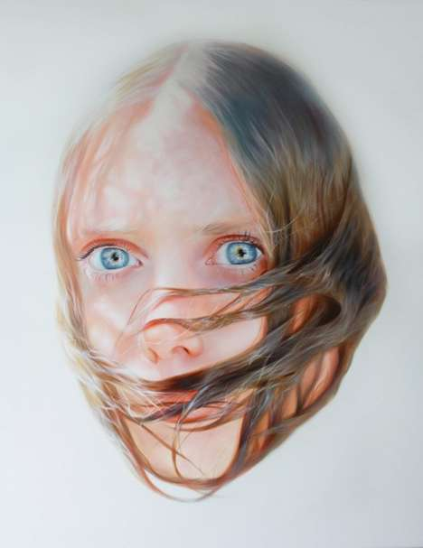 These Unnerving Paintings Show Women Ensnared by Their Own Hair