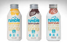 All-Natural Meal Replacements - The Rumble Supershake is Deliciously Made From Only the Best Stuff