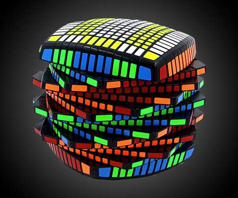 Overcomplicated Kids Toys - The 13 x 13 x 13 Rubik's Cube by YJ MoYu is Impossibly Difficult