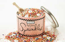 Comedian-Designed Sprinkles - This Paint Can of Sprinkles was Created by Amy Sedaris and Fishs Eddy