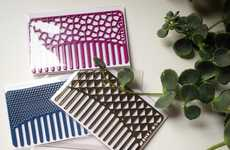 Convenient Card-Sized Combs