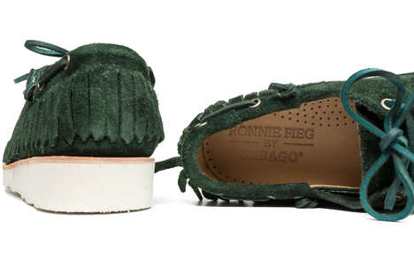 Contemporary Remixed Moccasins - Ronnie Feig and Sebago Have Collaborated to Create New Colorways