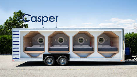 The Napmobile Presented by Casper Allows Consumers to Test Mattresses
