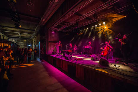 Shipping Container Music Venues