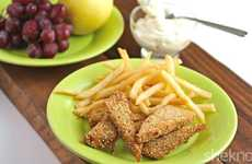 Vegetarian Tempeh Fish Sticks
