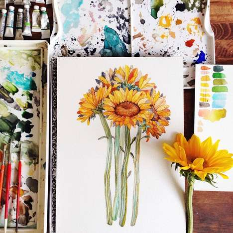 Realistic Floral Paintings