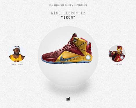 Superhero Basketball Shoes