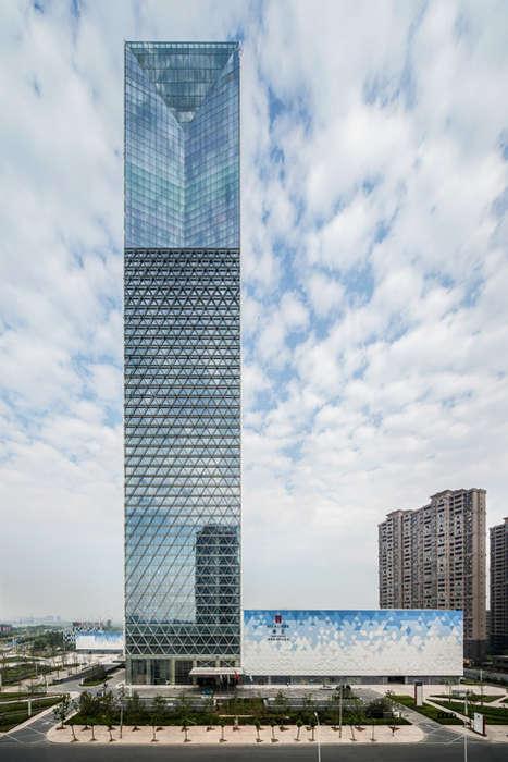 Visually Deceiving Skyscrapers