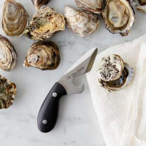 Shellfish-Shucking Bottle Openers