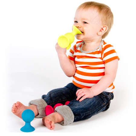 Tactile Teething Toys