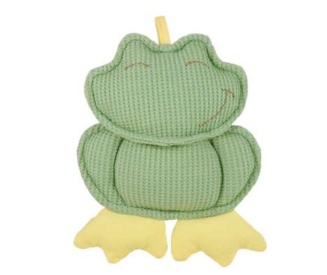 Eco Rattle Toys - Re-Think It's Organic Cotton Rattle Encourages Sustainability