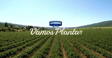 Branded Farm Visits - This Hellmann's Brazil Campaign Invited Fans to Its Tomato Fields
