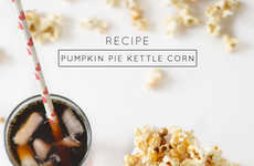 Pumpkin Pie Popcorn - This Flavored Kettle Corn Recipe Will Get You Into the Autumnal Spirit
