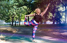 Vibrant Plus-Size Activewear