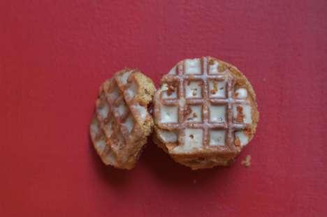 Savory Waffle Cookies