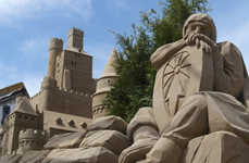 Sand Castle Hotels - This Dutch Sand Hotel was Created as an Entry in a Sand Castle Contest