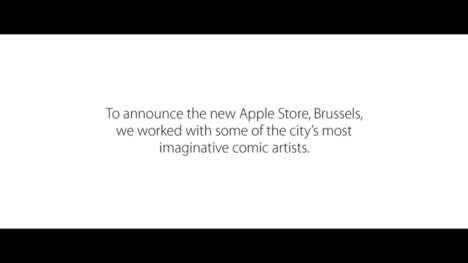 City-Celebrating Comic Displays
