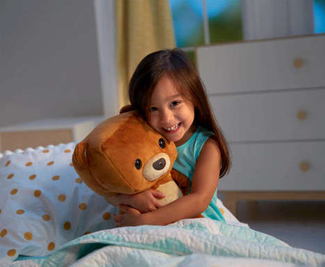 Interactive Teddy Bears - The Smart Toy Bear Connects to an App to Teach Kids Lessons