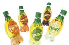 Hybrid Tea-Lemonades - Lemonarie's Lemonade Bottle Beverages are Blended with Tea Bases