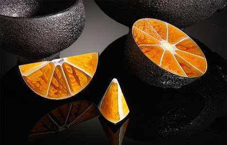 These Vibrant Glass Sculptures Colorfully Display Cross Sections of Fruit