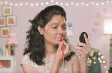 Acid Attack Awareness Tutorials - 'Beauty Tips by Reshma' Features Advice from an Acid Attack Victim