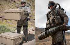 Robotic Military Suits - The Lockheed HULC Exoskeleton Gives Soldiers Superhuman Strength