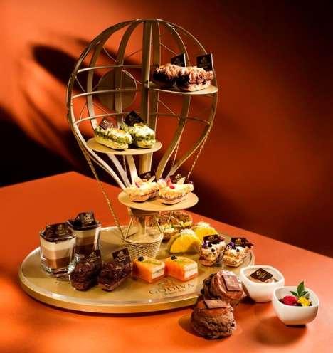 Gourmet-Chocolate Tea Menus