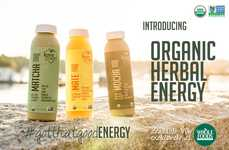 Caffeinated Superfood Beverages - Love Grace's Organic Herbal Energy Features Cold-Brewed Blends
