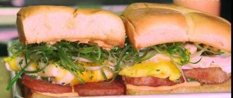 Hawaiian Breakfast Sandwiches